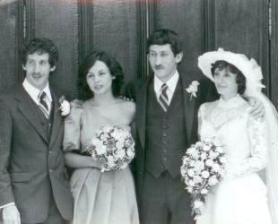 Joe, Branka, Jeff, Liliana - 1982