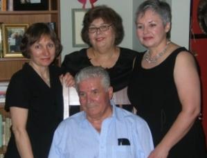 Liliana, Nana, Branka and our father